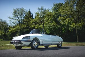 1968 Citroën DS 21 cabriolet usine For Sale by Auction