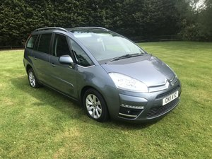 2011 CITROEN C4 GRAND PICASSO WHEEL CHAIR READY WITH HOIST