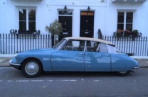 1961 Citroen DS Right hand drive (ID19 Confort), 52k  For Sale