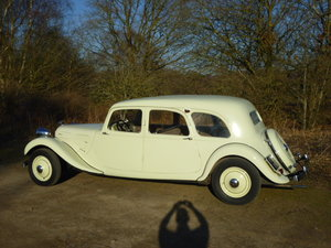 Traction Avant 11A Limousine - 1936.  RARE EXAMPLE