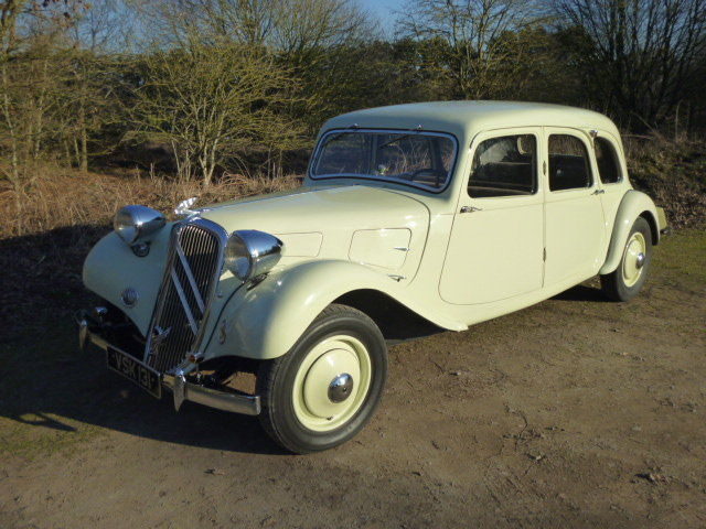 Traction Avant 11A Limousine - 1936.  RARE EXAMPLE For Sale (picture 2 of 6)