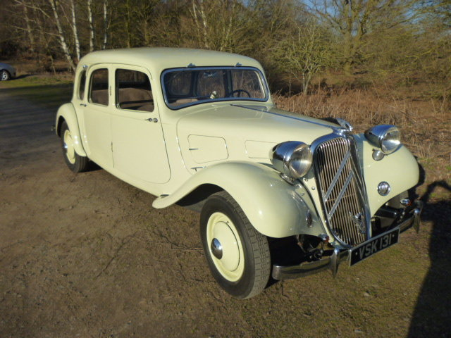 Traction Avant 11A Limousine - 1936.  RARE EXAMPLE For Sale (picture 6 of 6)