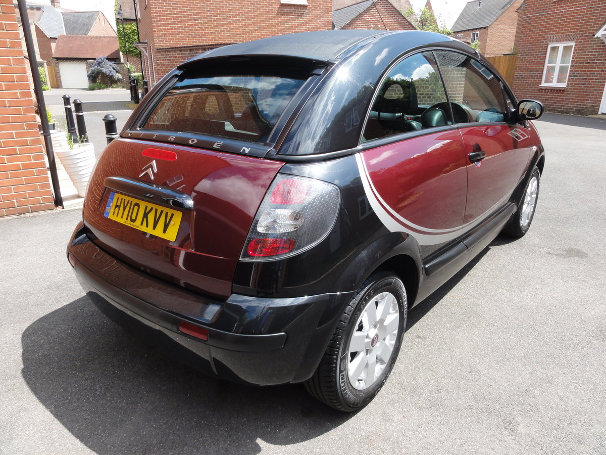 2010 Citroen C3 Pluriel Charleston 31000 miles For Sale (picture 4 of 6)