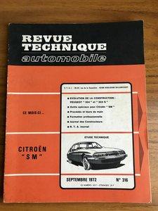 Citroen SM French Workshop Manual/ Revue Technique