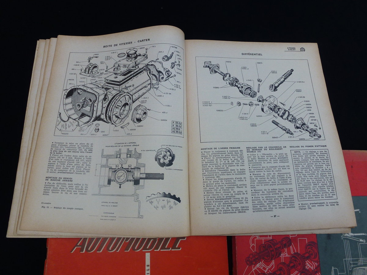 Citroen H Van Technical Books For Sale (picture 2 of 2)