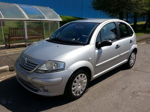 2003 CITROEN C3 1.4 EXCLUSIVE AUTO F/S/H 37,356 MILES For Sale