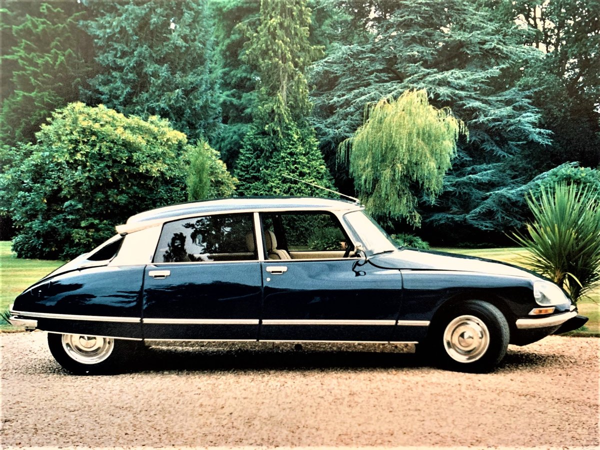 1974 Citroen DS23 Pallas 5Sp Manual For Sale (picture 3 of 6)