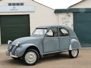 1956 Citroen 2CV Ripple Bonnet, restored, Sold SOLD