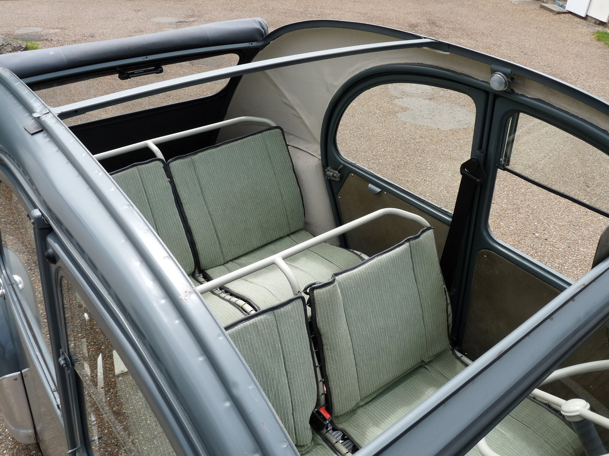 1956 Citroen 2CV Ripple Bonnet, restored, Sold SOLD (picture 5 of 6)