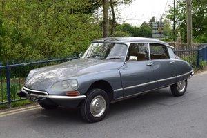 1967 Citroen DS21 Pallas For Sale by Auction