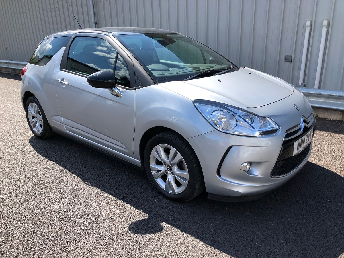 2011 11 CITROEN DS3 1.6 16V PETROL DSTYLE AUTO 120 BHP SOLD (picture 1 of 6)