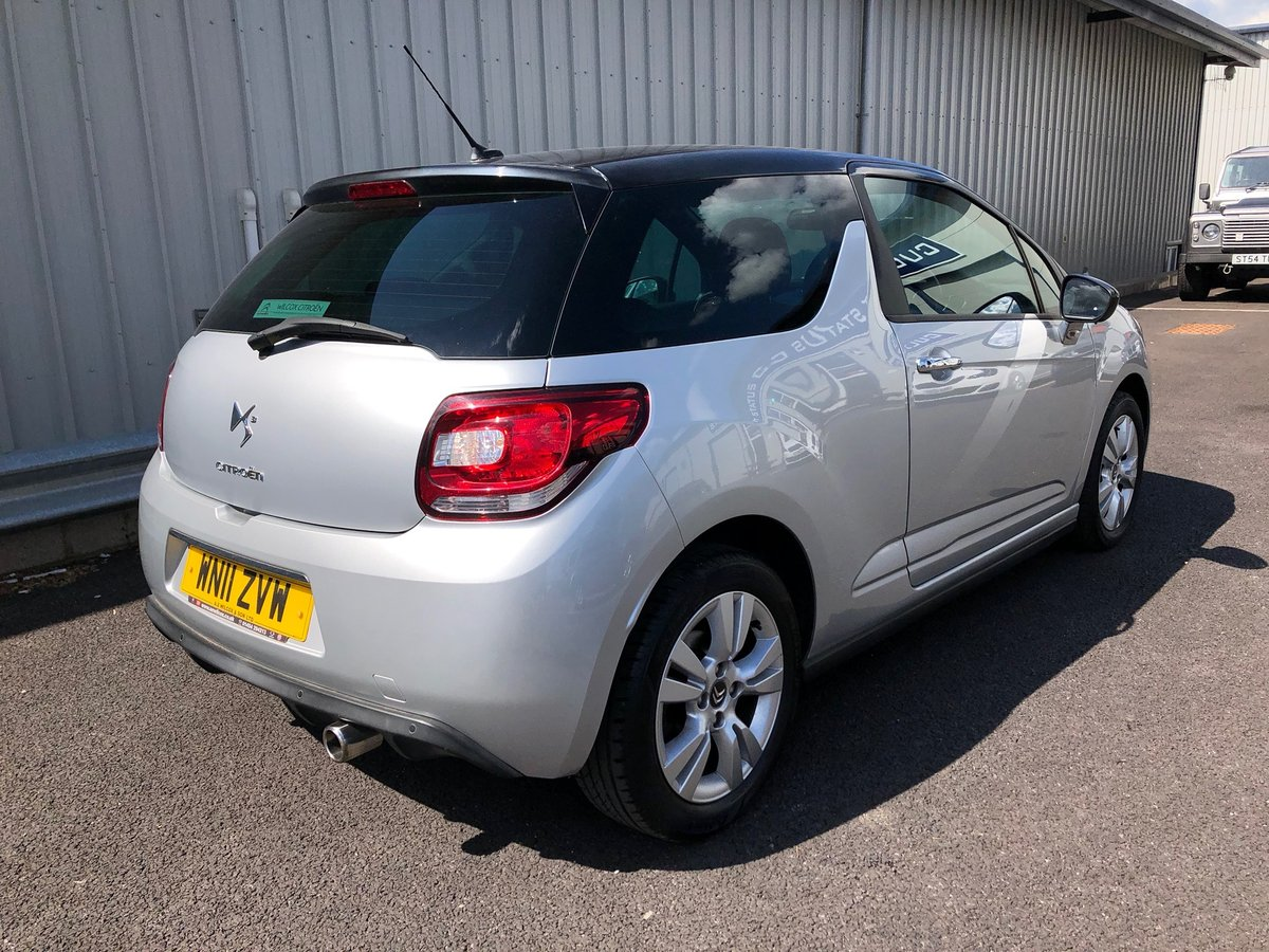 2011 11 CITROEN DS3 1.6 16V PETROL DSTYLE AUTO 120 BHP SOLD (picture 3 of 6)