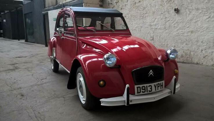 1986 Beautiful Red 2CV For Sale (picture 1 of 6)