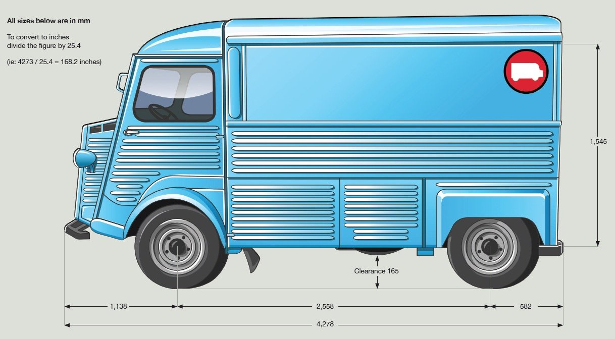 1956 Citroen HY Van Premium Mobile Bar Fully Renovated  For Sale (picture 6 of 6)