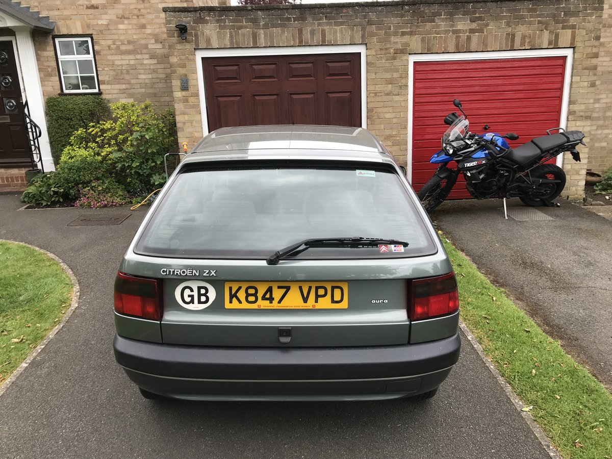 1992 Citroen ZX 1.9D Aura with just 73K one owner For Sale (picture 3 of 6)