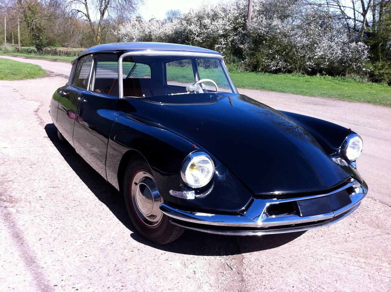 1958 - Rare concours Citroen DS 19. 59371km For Sale (picture 1 of 6)