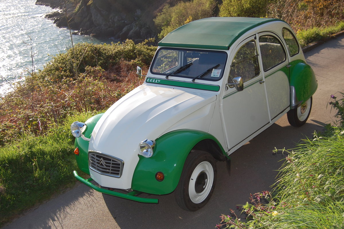 1989 Citroen 2CV Dolly for hire at Jersey Classic Hire.Com For Hire (picture 3 of 6)