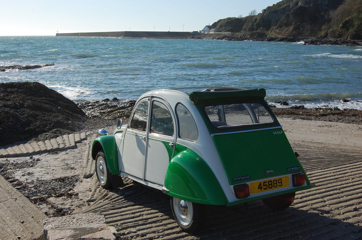 1989 Citroen 2CV Dolly for hire at Jersey Classic Hire.Com For Hire (picture 4 of 6)