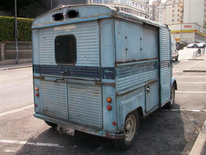 1971 Citroen Hy Van SWB, Petrol 1970 For Sale