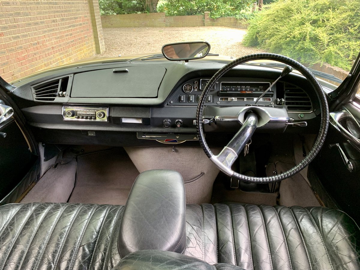CITROEN DS 21 PALLAS 1969 - RIGHT HAND DRIVE For Sale (picture 6 of 6)