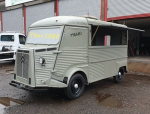 1968 Citroen HY H Van / vintage van / Kiosk Dutch style For Sale