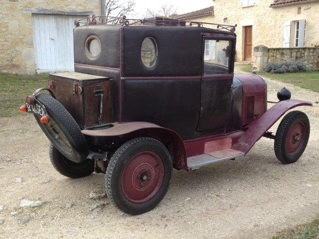 1919 Citroën Type A Doctor's coupé For Sale (picture 2 of 5)