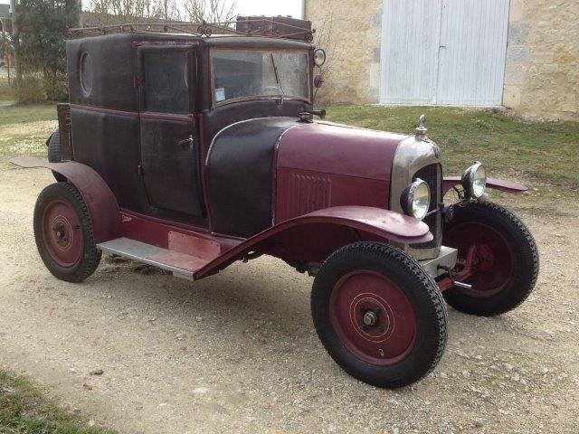 1919 Citroën Type A Doctor's coupé For Sale (picture 3 of 5)