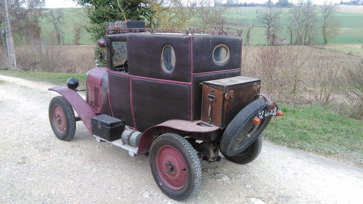 1919 Citroën Type A Doctor's coupé For Sale (picture 4 of 5)