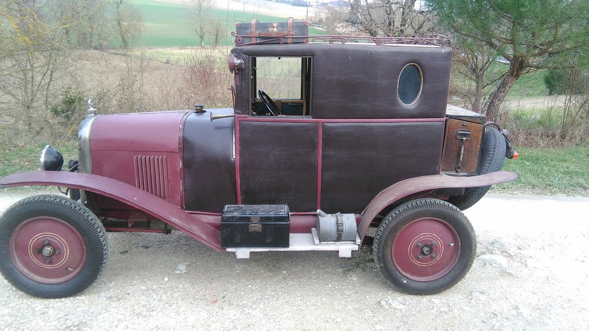 1919 Citroën Type A Doctor's coupé For Sale (picture 5 of 5)
