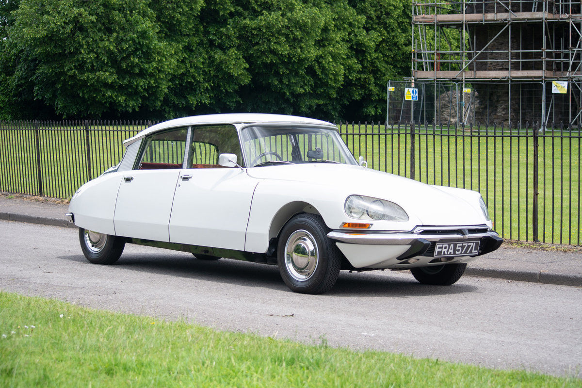 1973 Citroen DS Super 5 SOLD by Auction (picture 1 of 6)