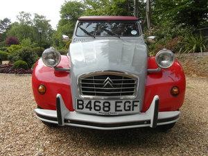 1985 Citroen 2 CV6 Dolly Rare Red & Grey For Sale
