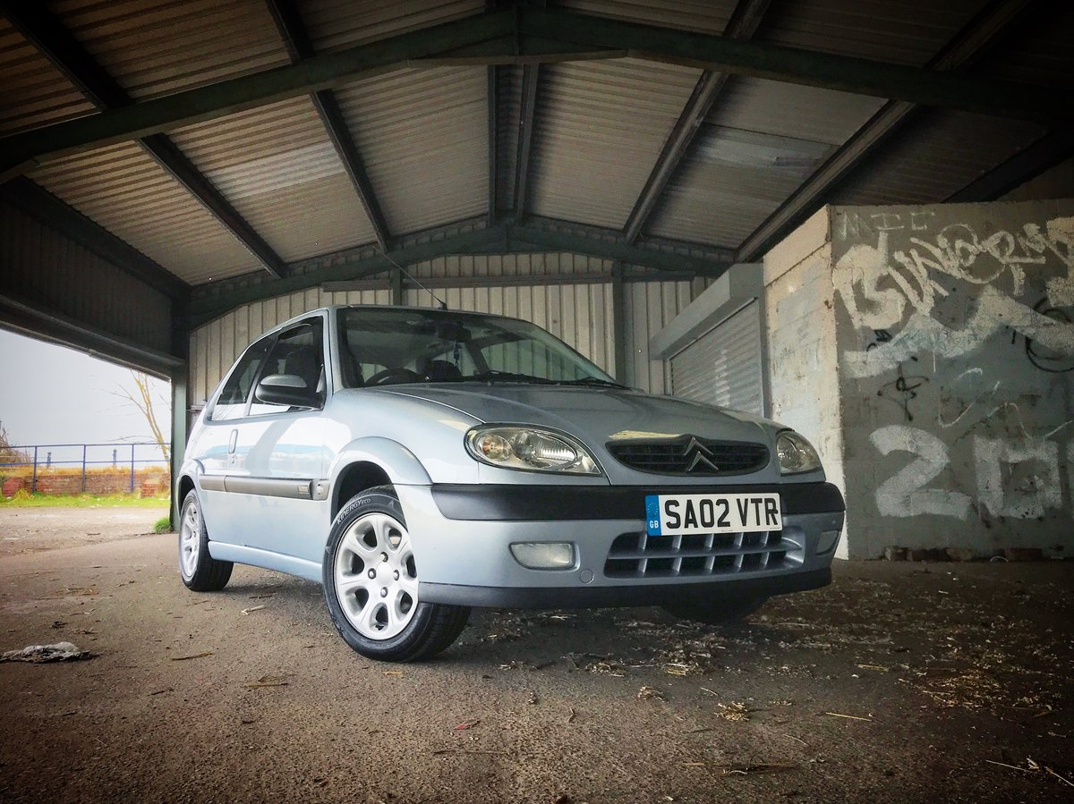 2002 Citroen Saxo VTR - Two owner, 40k mile, unmodified For Sale (picture 6 of 6)