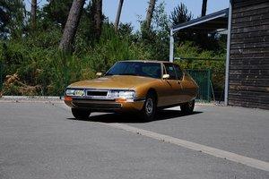 1973 - Citroën SM Injection Electronique For Sale by Auction