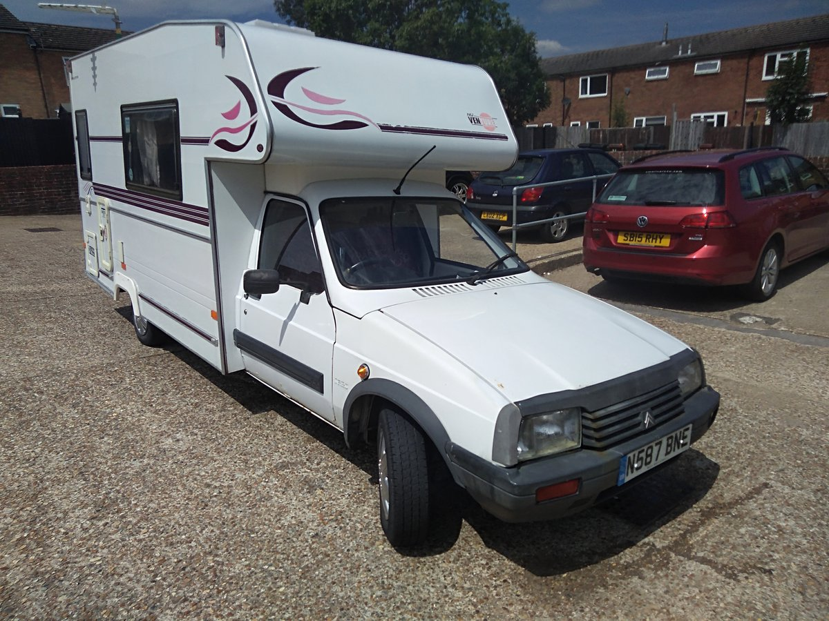 1996 Citroen C15 Nu venture Lwb Motorhome For Sale (picture 1 of 6)
