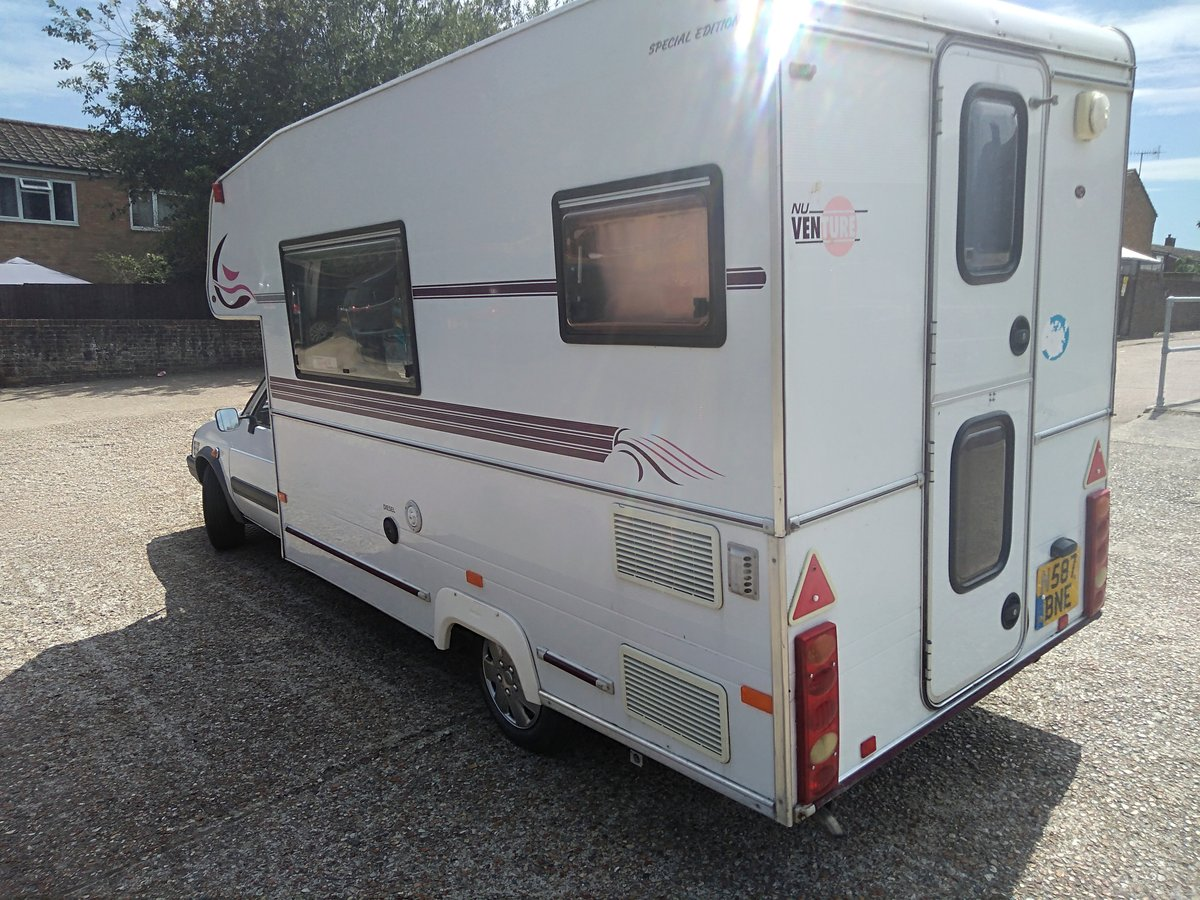 1996 Citroen C15 Nu venture Lwb Motorhome For Sale (picture 2 of 6)