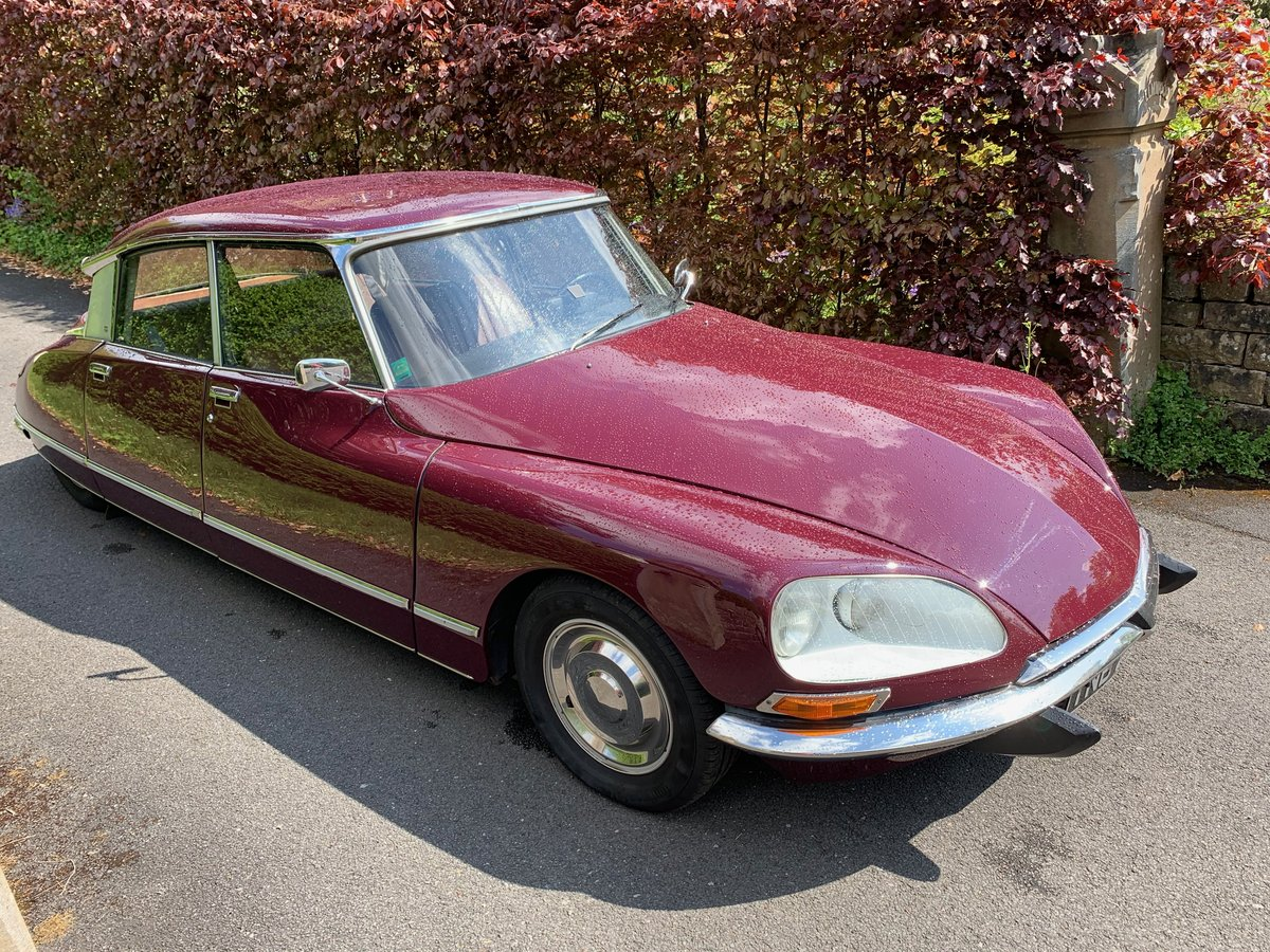 1971 Citroen DS 21ie Pallas BHV LHD -  For Sale (picture 3 of 6)