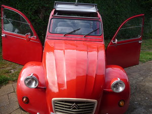 1988 Citroen 2CV 6 Special with Galvanised Chassis For Sale