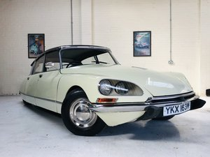 1973 CITROEN DS21 DS 21 D SUPER 5 RHD - SUPER VALUE SOLD