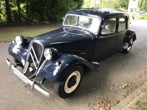 1953 CITREON 11B TRACTION For Sale