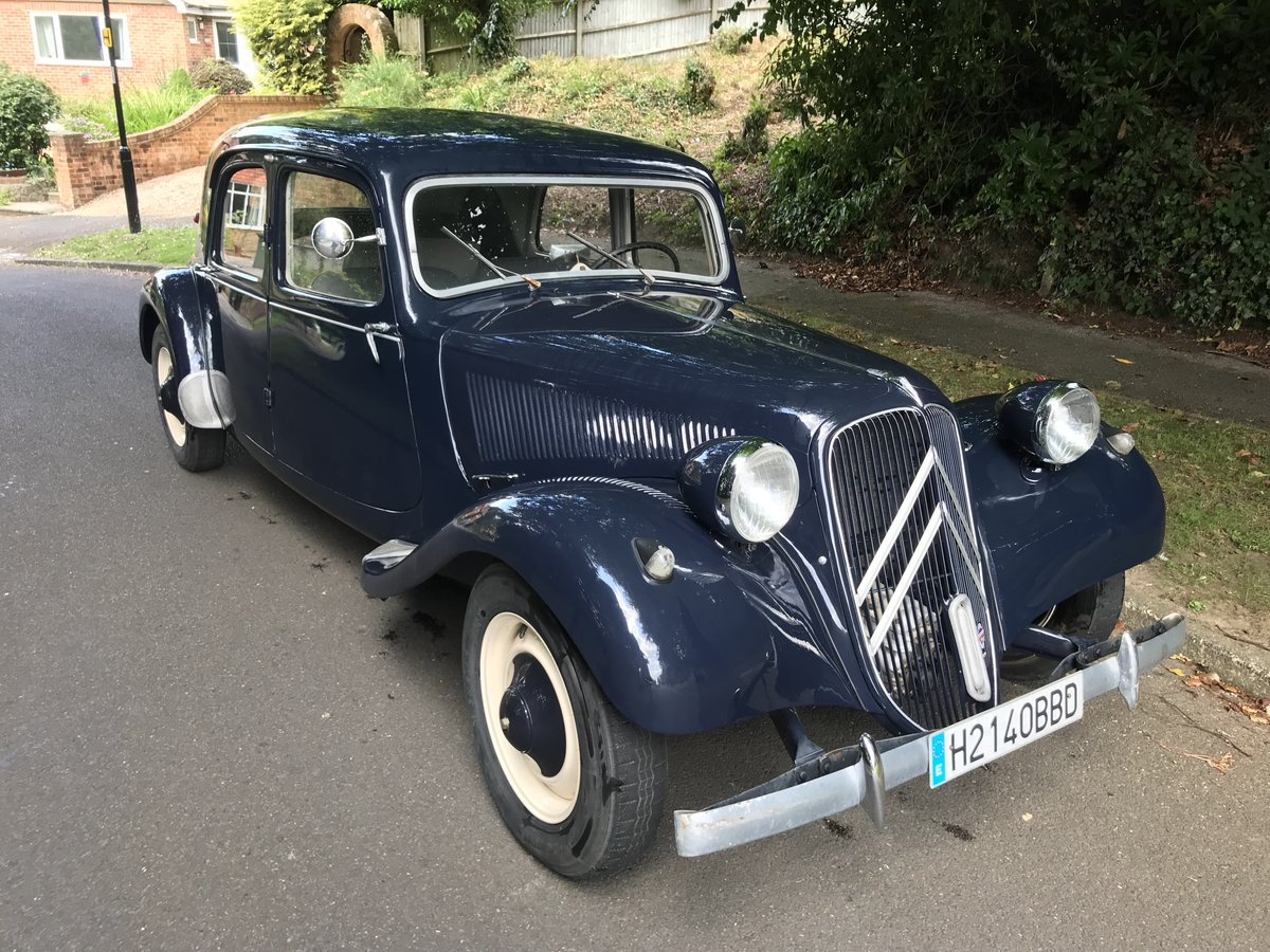 1953 CITREON 11B TRACTION For Sale (picture 2 of 6)