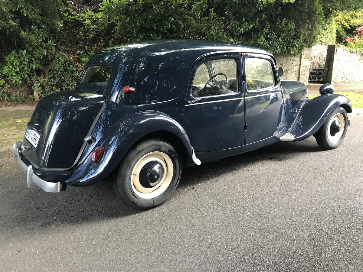 1953 CITREON 11B TRACTION For Sale (picture 3 of 6)