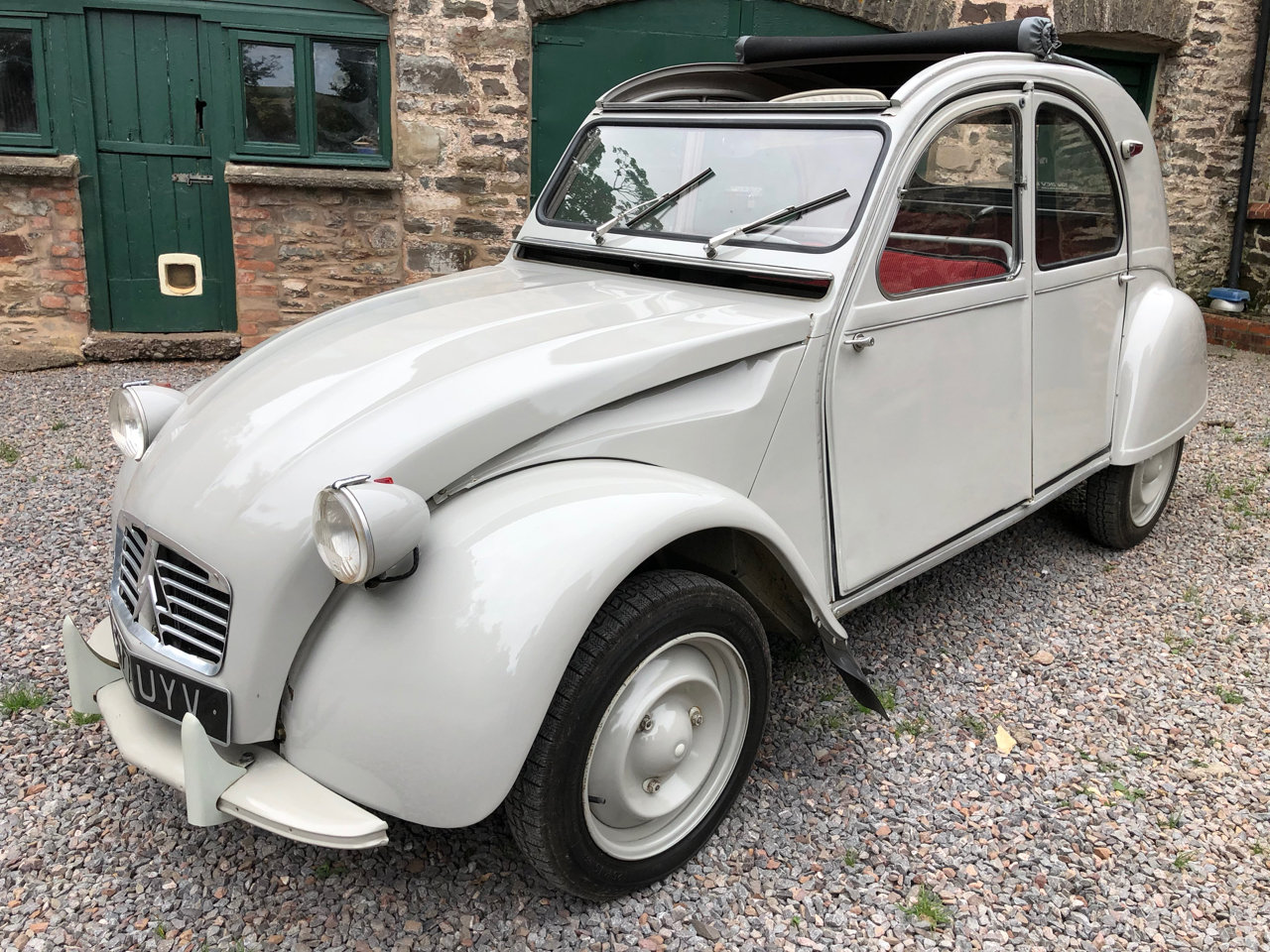 1962 Citroen 2CV with Traffi-Clutch SOLD (picture 1 of 6)