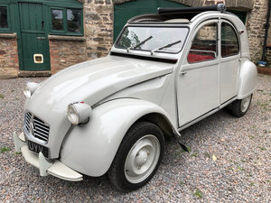 1962 Citroen 2CV with Traffi-Clutch