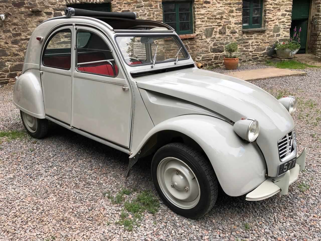1962 Citroen 2CV with Traffi-Clutch SOLD (picture 2 of 6)