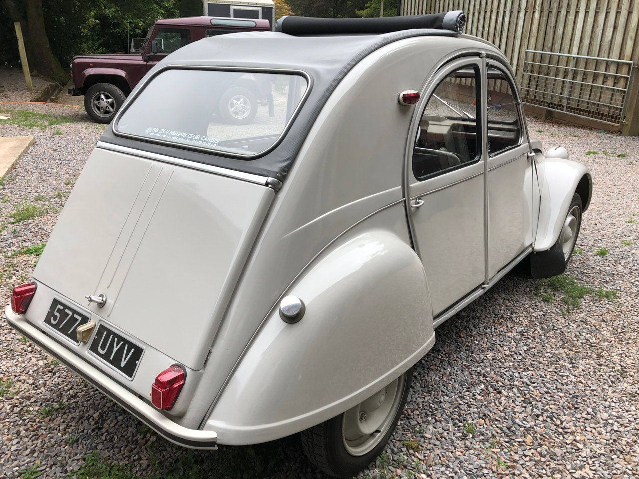 1962 Citroen 2CV with Traffi-Clutch SOLD (picture 4 of 6)