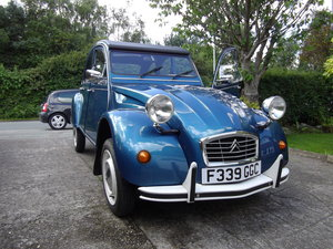 1989 Citroen 2CV6 Classic car For Sale
