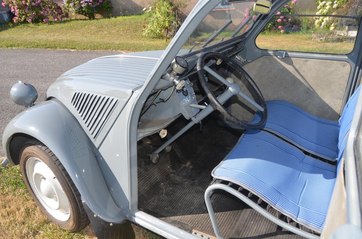 1959 Citroen 2CV AZLP (suicide doors) Rare  For Sale (picture 5 of 6)