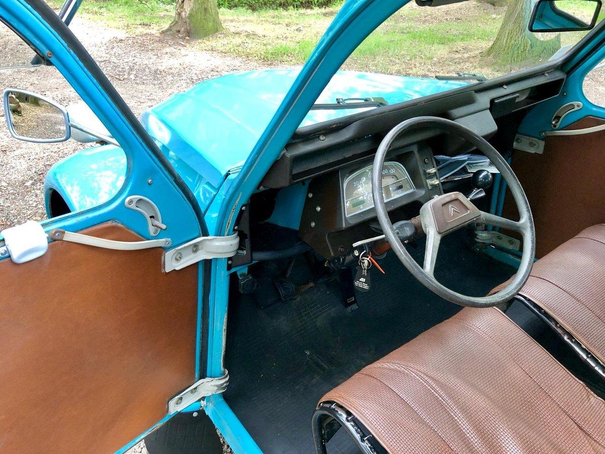 AK400 07-1976 AC 643 Bleu Petrel 37603km For Sale (picture 6 of 6)