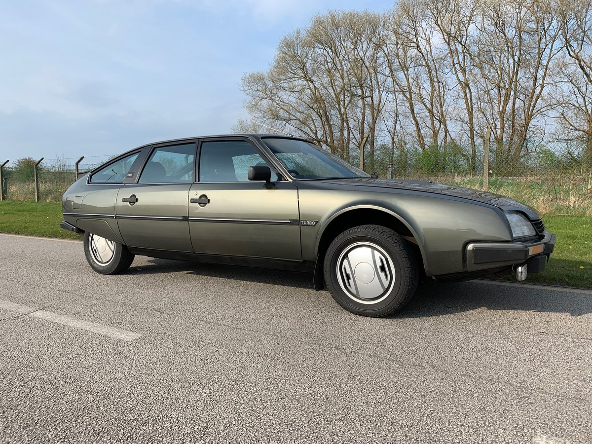 1985 Stunning low mileage Citroen CX GTI Turbo For Sale (picture 1 of 6)