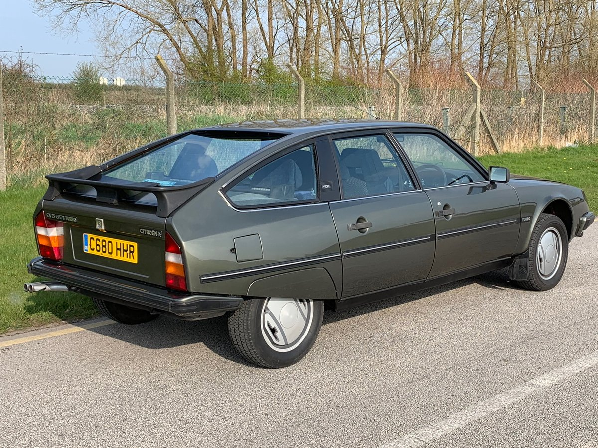 1985 Stunning low mileage Citroen CX GTI Turbo For Sale (picture 2 of 6)